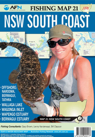 NSW South Coast Fishing Map 21 AFN